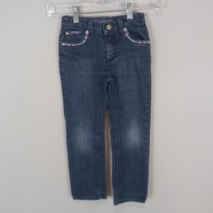 Levis Embroiderd Skinny Jeans Size 6